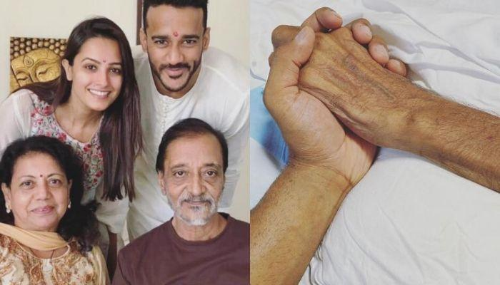 Anita Hassanandani And Rohit Reddy Pen Eulogies On His Father's Demise, Express The Unsaid Feelings