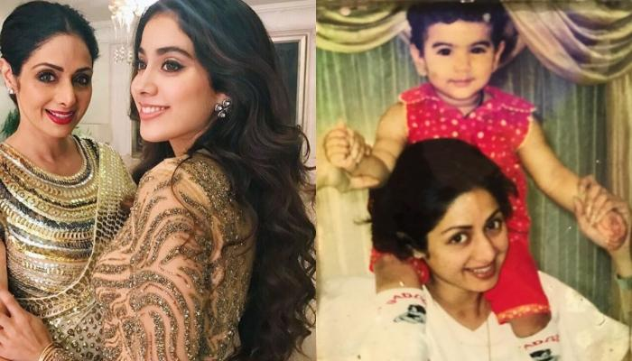 Sridevi Holding Little Janhvi Kapoor In Her Arms In This Old Unseen Picture Is A Golden Memory