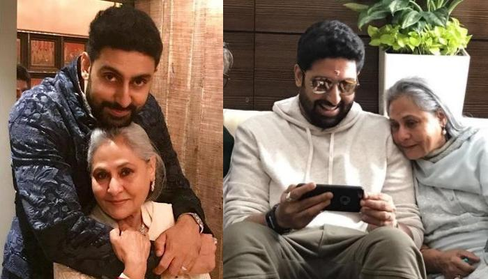 Abhishek Bachchan Portrayed This Role While Working With Mother, Jaya Bachchan For The First Time