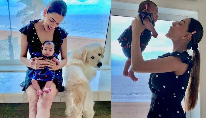 Smriti Khanna's Little Doll, Anayka Turns Two-Months-Old, The Dotting Mommy Shares A Twinning Pic