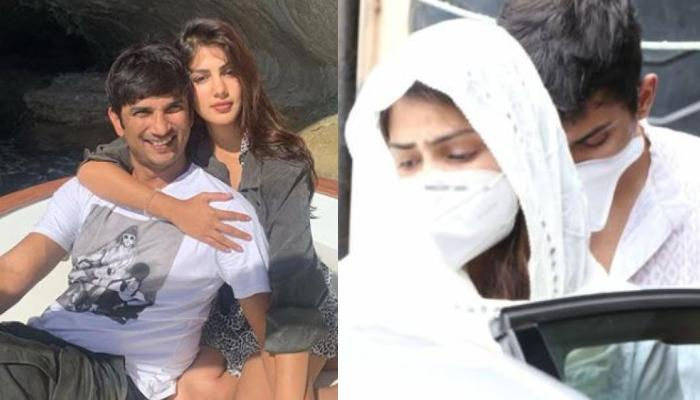 Sushant Singh Rajput's Rumored Girlfriend, Rhea Chakraborty Reaches Hospital, Looking Devastated