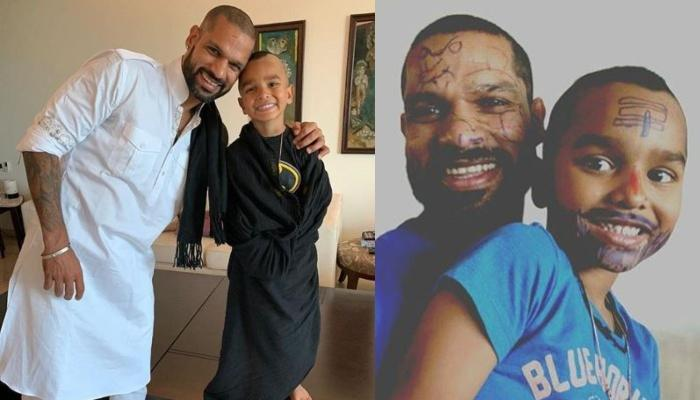 Shikhar Dhawan Shares Photo With His Little Son, Zoravar, Reveals How Badly They're Missing The IPL