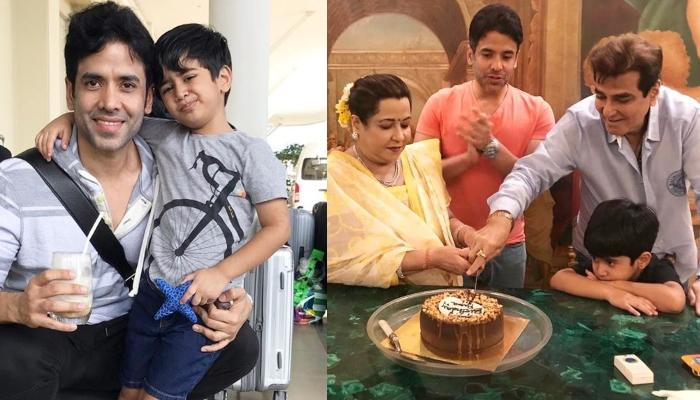 Tusshar Kapoor Reveals How His Son, Laksshya Kapoor Is Getting Time To Bond With Grandparents