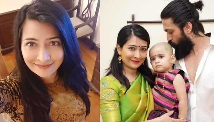 K.G.F. Star Yash's Wife, Radhika Pandit Shares A Family Pic With Masked Faces Amidst The Pandemic