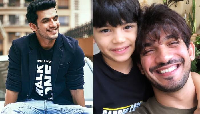 Arjun Bijlani Twins With Son, Ayaan As They Wear Matching T-Shirts Ahead Of Father's Day