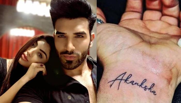 Paras Chhabra Replaces Ex-Girlfriend, Akanksha Puri's Name Tattoo With Bigg Boss's Logo, Here's Why