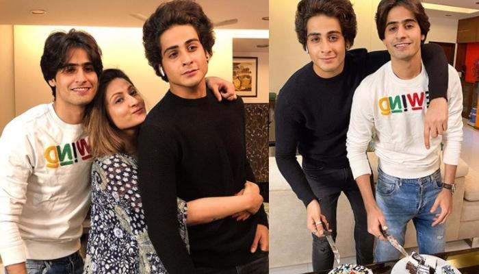 Urvashi Dholakia Celebrates Her Twins, Kshitij Dholakia And Sagar Dholakia's 25th Birthday At Home