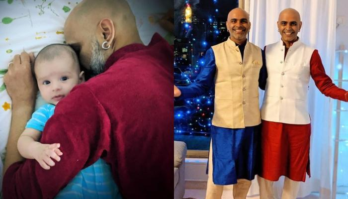 Raghu Ram's Son, Rhythm's Clueless Expressions On Seeing His Father's Identical Twin, Rajiv Are Fun