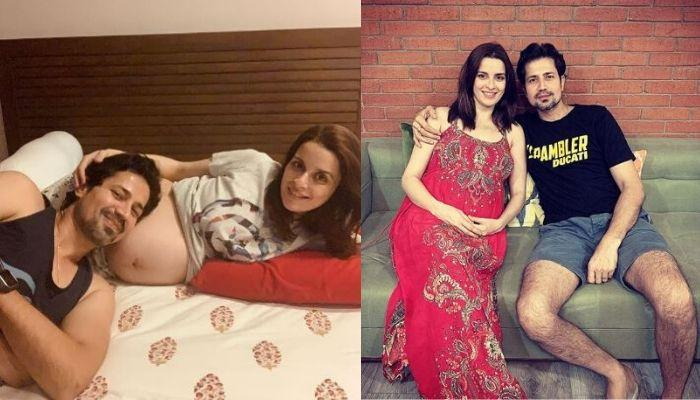 Ekta Kaul Shares A Fall Asleep Picture With Newborn Son, Ved, While Daddy, Sumeet Vyas Is Wide Awake