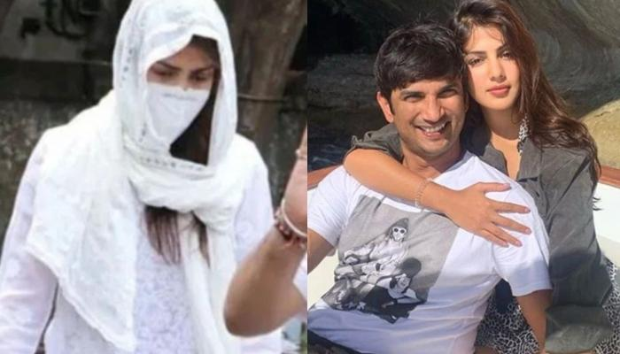 Rhea Chakraborty Admits Wedding With Sushant Singh Rajput In 2020 In Her 9-Hour Police Interrogation