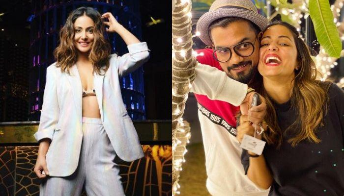 Hina Khan Misses Boyfriend, Rocky Jaiswal, Shares A 'Dil Wali Selfie' With The Love Of Her Life