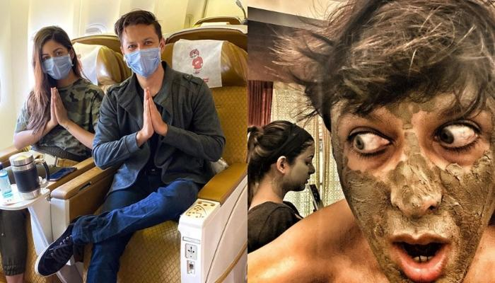 Vatsal Sheth And Ishita Dutta Redefine Love With The 'Right' Kind Of Matching Face Masks