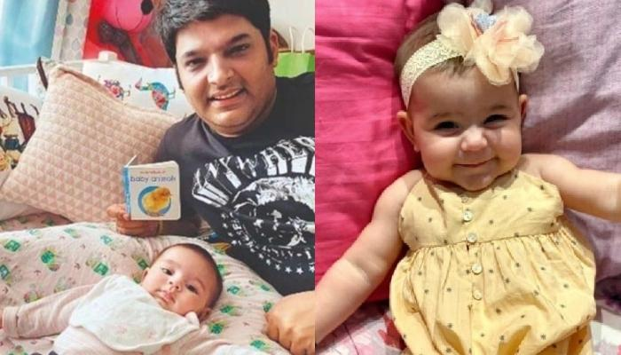 Kapil Sharma Cuddling His Daughter, Anayra Sharma In His Arms Proves She Is Her Daddy's Little Angel