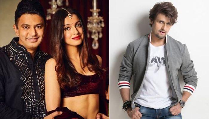 Divya Khosla Kumar Supports Hubby, Bhushan Kumar, Lashes Out At Sonu Nigam, Calling Him 'Thankless'