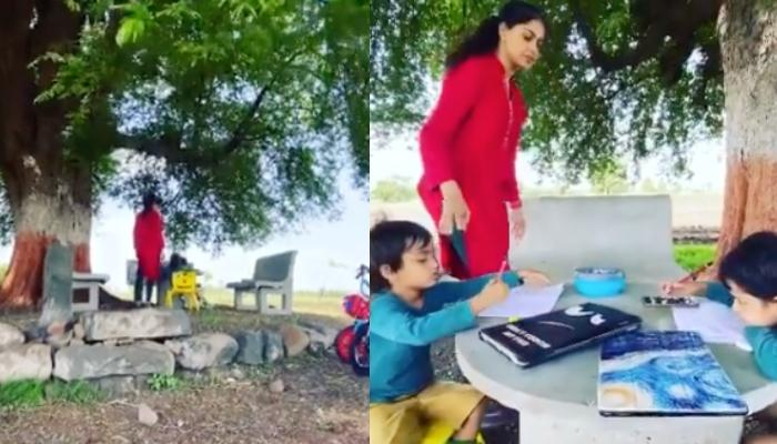 Genelia Deshmukh Shares The Importance Of Her Sons Riaan And Rahyl Experiencing The Life Amid Nature
