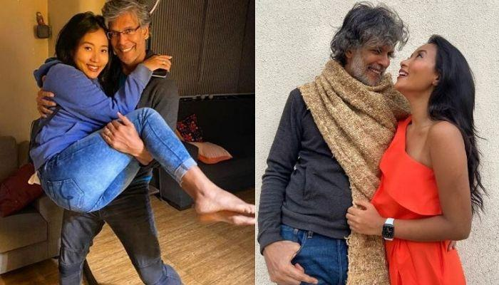 Milind Soman And Ankita Konwar's Romantic Rain Dance Looks Straight Out Of A Bollywood Film