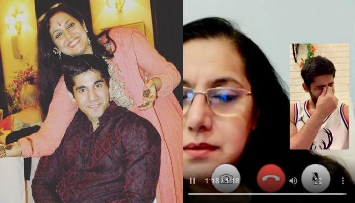 Varun Sood Video-Calls His Mom, Anjali Sood & Their Entertaining Conversation Is Every Mom-Son Ever