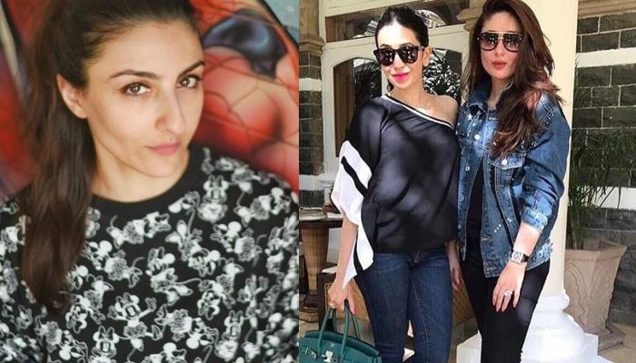Soha Ali Khan Shares A Throwback Picture With Karisma Kapoor Who Twins With Sis, Kareena Kapoor Khan