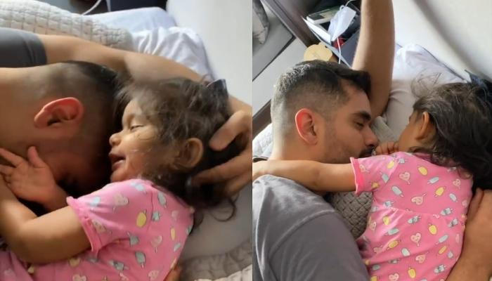 Angad Bedi And His Baby Girl, Mehr's 'Tujhse Naraz Nahi Zindagi' Moment Is All About 'Selfless Love'