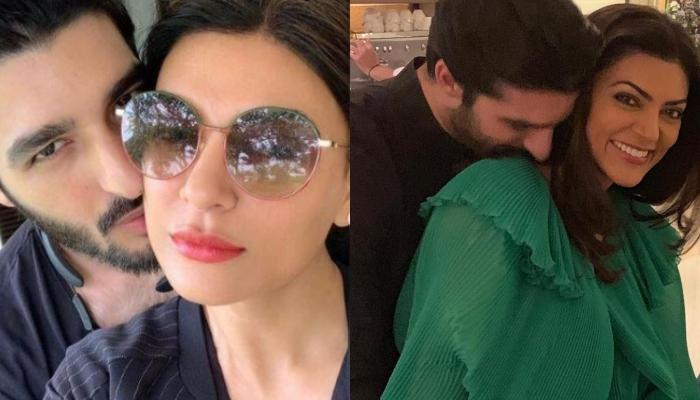 Sushmita Sen's Beau, Rohman Shawl Crashed Her Instagram Live, And Sang A Song For Her [Video Inside]