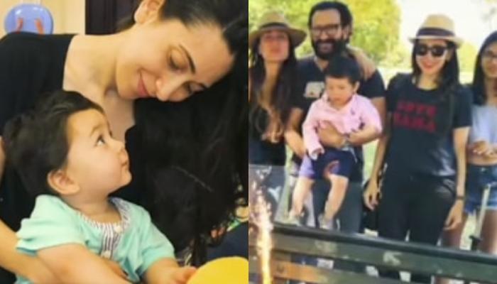Kareena Kapoor Khan Posts Unseen Maasi-Nephew Moments Of Karisma Kapoor With Taimur Ali Khan [VIDEO]