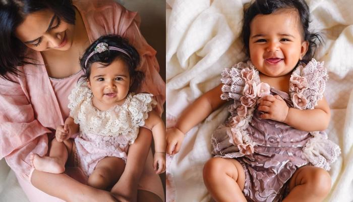 Sameera Reddy Twins In Orange With Her Little Angel, Nyra, Sets Mommy-Daughter Goals