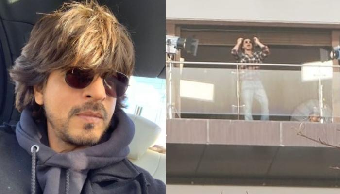 Shah Rukh Khan Spotted Shooting In His Mumbai Heaven, Fans Guess Another 'Lockdown Anthem By SRK'