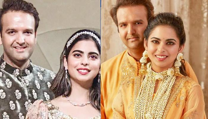 Isha Ambani Piramal And Anand Piramal Are A Sight To Behold As They Pose With Their 'Nanis'