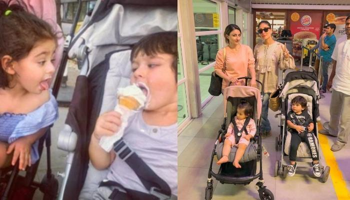 Kareena-Saif Along With Taimur And Soha-Kunal With Inaaya Were Spotted Out And About In The City