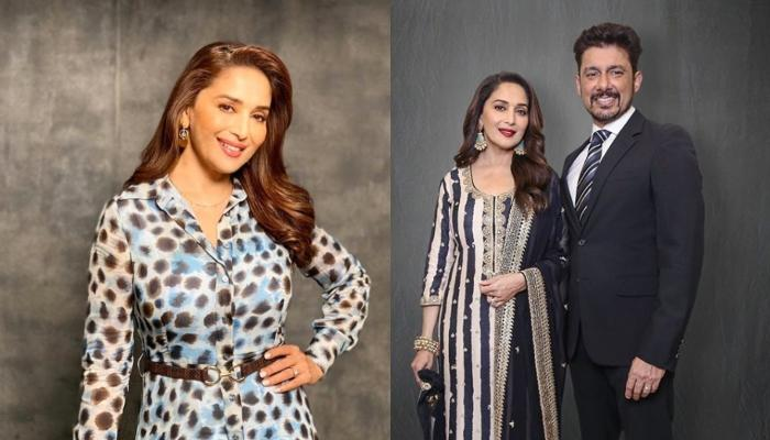 Madhuri Dixit Turns Hairstylist For Her Hubby, Sriram Nene, Says Had Fun Experimenting [Pic Inside]