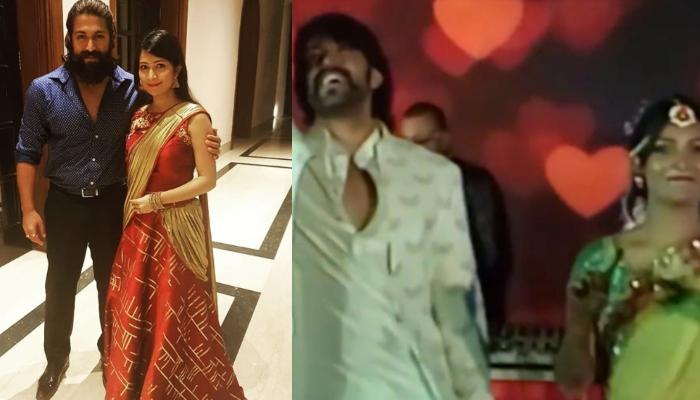 Yash And Radhika Pandit Look Adorable As They Dance In A Throwback Video From Their Mehendi Ceremony