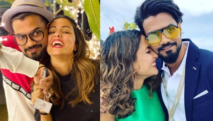 Hina Khan Shares Adorable Pictures With Beau, Rocky Jaiswal And His Reaction To Them Is Unmissable
