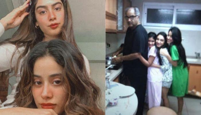 Janhvi Kapoor And Khushi Kapoor Are Leaning On Dad, Beside Leaning Tower Of Pisa [Throwback Pic]