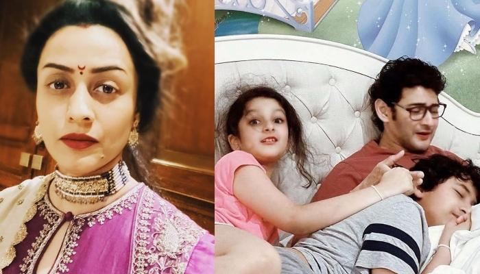 Namrata Shirodkar Shows Off Her Husband, Mahesh Babu And Her Kids' Names Tattoo On Her Forearm