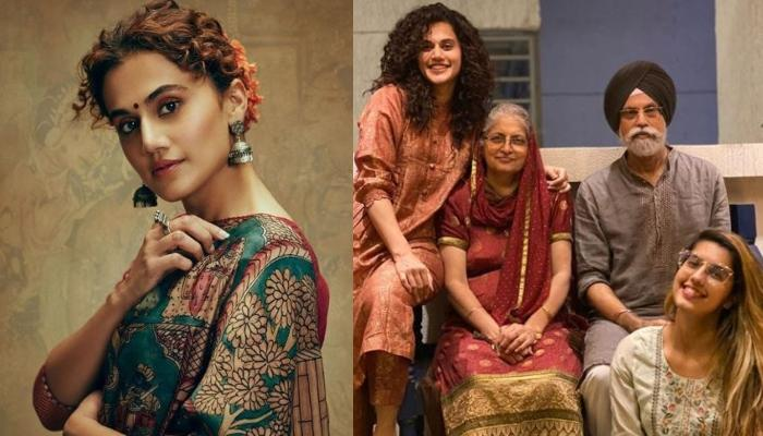 Taapsee Pannu Shares A Photo With Sister, Shagun Pannu, Reveals Their Mom Wants A Parenting Award
