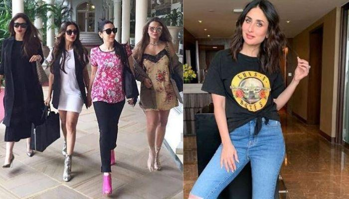 Kareena Shared A 'Pout Together Stay Forever' Picture With Her BFFs, Malaika, Amrita And Karisma