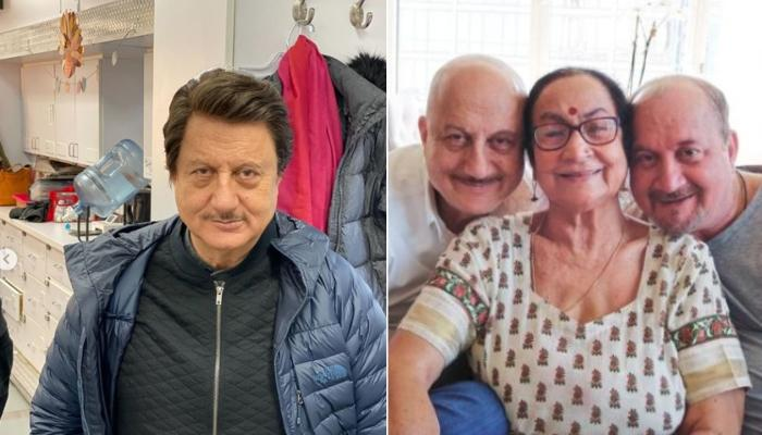 Anupam Kher's Mom, Dulari Sings A Bollywood Song, He Teases Her Asking If She's Missing His Dad