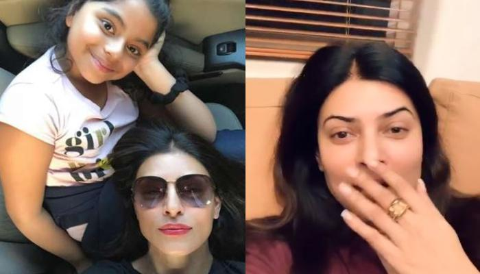 Sushmita Sen's Daughter, Alisah Sen Embarrasses Mom During Instagram Live After Calling Her This