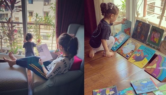Soha Ali Khan Shares An Adorable Picture Of Her Little Doll, Inaaya, Busy In Playing With A Puzzle