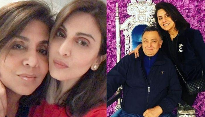 Riddhima Kapoor Recreates Mom, Neetu And Dad, Rishi Kapoor's 'Twinning In Black' Picture With Mommy