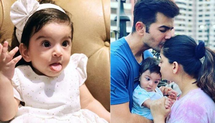 Mahhi Vij And Jay Bhanushali's Little Daughter, Tara Connects With Her 'Bua' Over A Video Call