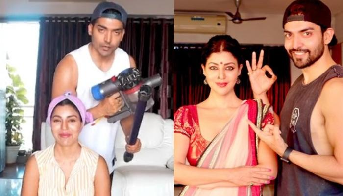 Gurmeet Choudhary Turns Hairstylist For His Wife, Debina Bonnerjee, The Latter Flaunts Her New Look