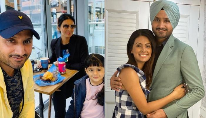 Harbhajan Singh Thanks Wife, Geeta Basra And Little Hinaya, Shares Pictures From His Birthday Party
