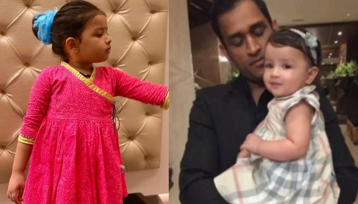 Ziva Singh Dhoni Sings 'Que Sera Sera' For Her 'Papa', Mahendra Singh Dhoni's Birthday
