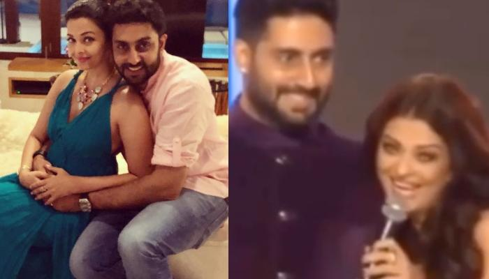 Aishwarya Rai Bachchan Flirts With Abhishek Bachchan In This Throwback Video