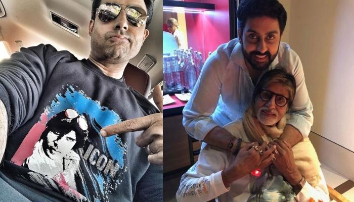 Abhishek Bachchan Reflects On How It Feels To Be The Son Of A Cinema Legend Like Amitabh Bachchan