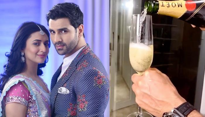 Divyanka Tripathi Doodles Her Love And Vivek Dahiya Pours The Champagne To Celebrate 4th Anniversary