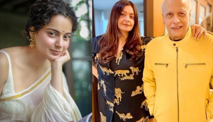 Kangana Ranaut Gives A Befitting Reply To Pooja Bhatt For Claiming That She Was Launched By Bhatts