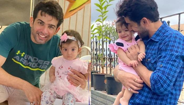 Jay Bhanushali Shows Off His Baby Girl, Tara Bhanushali's High-Five In A Funny Video