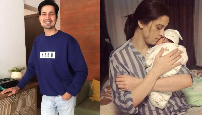 Sumeet Vyas Shares A Glimpse Of How New Mommy, Ekta Kaul Entertains Their Baby, Ved